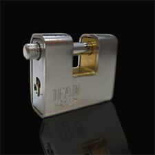 IFAM CEN 4 RATED KEYED ALIKE ARMOURED 80 PADLOCK.