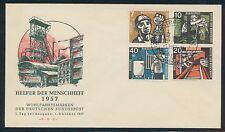 Ersttagsbrief-Briefmarken aus der BRD (1949-1959) mit Arbeitswelt-Branchen-Motiv