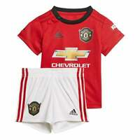 ADIDAS Infants Manchester United 2019/2020 Baby Home Kit (3M-18M) (Red)