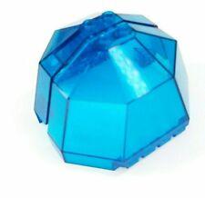 Lot LEGO Pair Dark Blue Transparent Windscreen Octagon Halves 6084 6085 Aquanaut