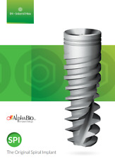 10 Dental Implants Alpha-Bio SPI Original Spiral S.P.I AlphaBio Implant TaxFree