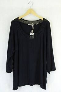 Jane Lamerton Black Top Xl by Reluv Clothing