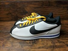 Nike Cortez Leather Men's Size 11 Amarillo White Purple BV2527-100 Lakers