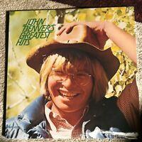 John Denver - Greatest Hits - VG+ OG RCA 1973 vinyl LP OIS - Rocky Mountain High
