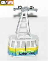 Brawa H0 6340.99.02 Gondel 2 beleuchtet für Nebelhornbahn - NEU + OVP