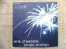 Sergio Endrigo – Era D'Estate / Anna Maria - 45 giri SOLO COPERTINA