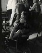 Photo de Presse Brigitte Bardot Isabelle Corey Vers 1955
