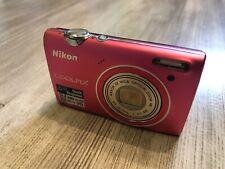 Nikon COOLPIX S5100 12.2MP Digital Camera Pink Free fast shipping from eu