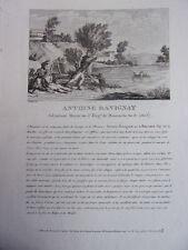 ANTOINE RAVIGNAT Adjudant Major au 3 Régiment de Hussards, An II 1803