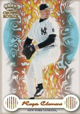 1999 Crown Royale Pivotal Players #14 Roger Clemens New York Yankees