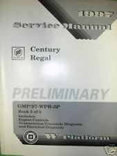 1997 BUICK CENTURY REGAL GM SHOP REPAIR MANUAL SERVICE