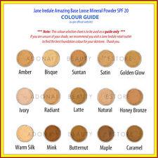 JANE IREDALE Amazing Base Loose Mineral Powder WARM SIENNA SPF20 10.5g New