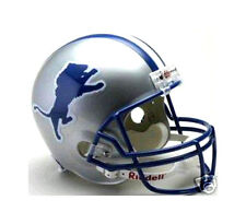 DETROIT LIONS 1983-2002 RIDDELL DELUXE REPLICA NFL FOOTBALL THROWBACK HELMET