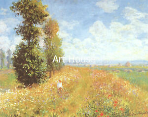 "Monet   ""Summerfield""   70x100cm   Print   8012"