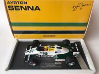 Minichamps Williams FW08C Senna F1 test Donington Park 1983 1/18 547831801