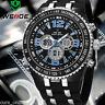 Elegante Orologio Uomo Weide WH1107 Sport Classic Led Crono ORIGINALE + Garanzia