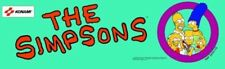 """The Simpsons Arcade Marquee 27"""" x 8"""""""
