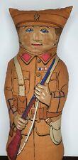 More details for original ww1 no.3 rag doll 1915 by s. finburgh soldier plush hulbert fabrics 17