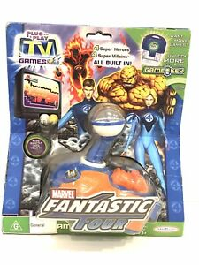 Fantastic Four plug-and-play TV game jakks pacific 2005 5 video games hand held