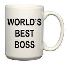 """World's Best Boss"" Coffee Mug, as used by Michael Scott on The Office"