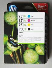Genuine HP 950XL/951XL Black and Colour Ink Cartridges 2020