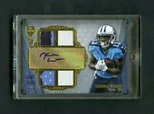 2012 Kendall Wright Topps Supreme Quad Relic Rookie RC Patch Auto 3/5 *Note*