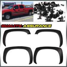 Matte Factory Style Fender Flares Fit For 1999-2006 GMC Sierra Chevy Silverado