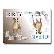 ITALIAN GREYHOUND Clean Dirty DISHWASHER MAGNET Iggie