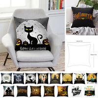 "Amovible 18"" Polyester Taie d'oreiller Housse de coussin Maison Halloween Decor"