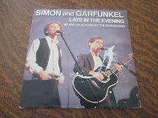45 tours SIMON & GARFUNKEL late in the evening