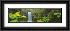 Millaa Millaa Falls, Quensland 2x Matted 40x18 Framed Art by Peter Lik