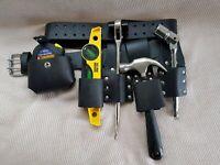 scaffolding 100% LEATHER BELT WITH 4 PCS FULL TOOLS SET + Hammer Holder