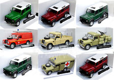 LAND ROVER 1:43 Car Model Cars Die Cast Metal Miniature Toy
