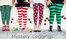 NEW LuLaRoe Christmas MYSTERY Leggings Kids S/M L/XL Tween OS TC TC2 Tall Curvy