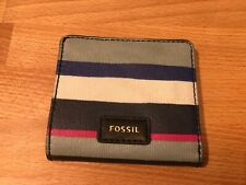 Fossil Small Card Holder Wallet! Used! Only £19,90!!!