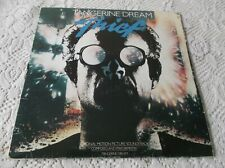 Tangerine dream Soundtrack Thief LP Album Canada pressing