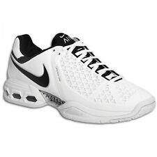 2008 Nike Air Max Breathe Cage II SZ 10.5 White Black Tennis Shoes 317887-101
