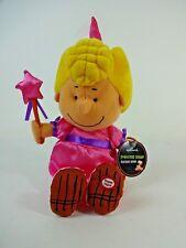 "Hallmark Princess Sally Doll Charlie Brown Peanuts Halloween Talking Plush 12"""