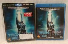 Disney's Tron Legacy Blu-Ray & Dvd Set with original 3D Lenticular Slipcover