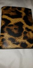 Michael Kors MK leather passport, I.D. case LEOPARD ANIMAL PRINT  NWTS