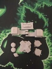 Game Boy Advance SP GBA SP Replacement Full Button Kit - grey - original parts