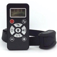Stop Barking Training Dog Collar   Rechargeable Vibration Sound Remote