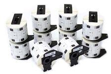 10x 800 Etiquettes Standard 62mm x 29mm pour Brother DK-11209
