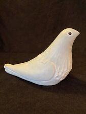 Isabel Bloom Cement Art Sculpture Pigeon Dove Bird In Outdoor Garden Figurine