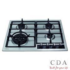 CDA HG6350SS LPG Stainless Steel 4 Burner Hob