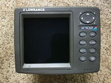 Lowrance X-102 Fishfinder in excellent condition.
