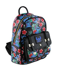 "Disney Lilo And Stitch 10"" Small PU Backpack"