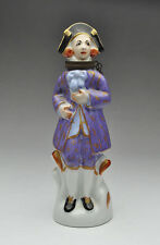 """ANTIQUE FRENCH PORCELAIN NOVELTY PERFUME SCENT BOTTLE - Height 5 1/4"""""""