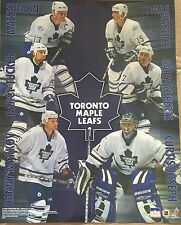 Toronto Maple Leafs Collage Sundin Roberts Cujo Tucker 16x20 Starline Poster OOP