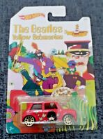 The Beatles Morris Mini Hotwheels Diecast Model Brand New and Boxed